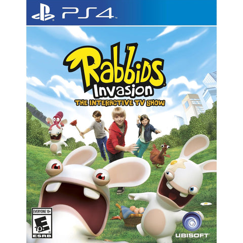 Rabbids Invasion (Sony PlayStation 4, 2014)