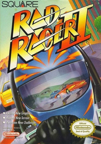 Rad Racer II (Nintendo Entertainment System, NES, 1990)