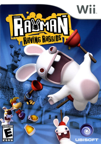 Rayman Raving Rabbids (Nintendo Wii, 2006) Complete
