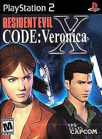 Resident Evil CODE Veronica X [Black Label] (Sony PlayStation 2, 2002) Complete