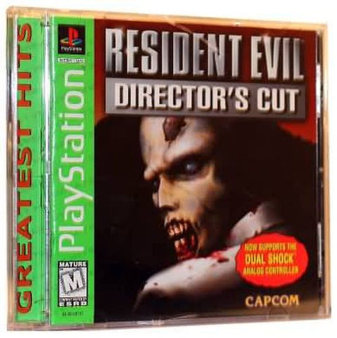 Resident Evil Director's Cut (Sony PlayStation 1, 1998) Complete Greatest Hits