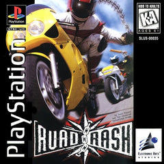 Road Rash (Sony PlayStation 1, 1995) Long Box Version - Games Found Here  - 1