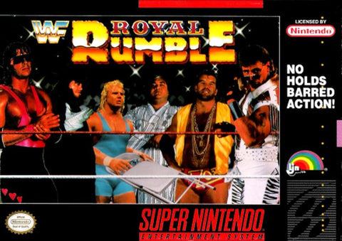 WWF Royal Rumble (Super Nintendo Entertainment System, 1993)
