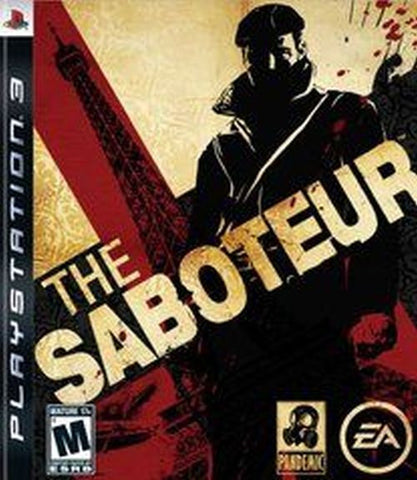Saboteur  (Sony Playstation 3, 2009) New Factory Sealed