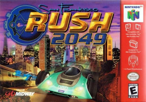 San Francisco Rush 2049 (Nintendo 64, 2000)