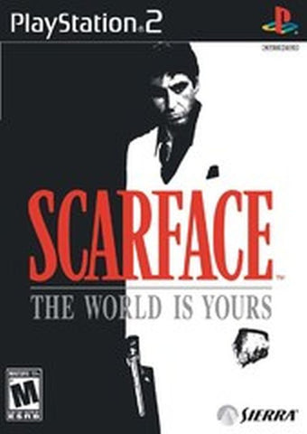 Scarface: The World is Yours (Sony PlayStation 2, 2006) Complete