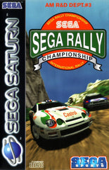 Sega Rally Championship (Sega Saturn, 1995) Complete - Games Found Here