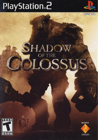 Shadow of the Colossus [Black Label] (Sony PlayStation 2, 2006) Complete