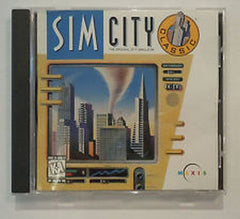 Sim City SimCity Classic Enhanced 1 Oiginal new Factory Sealed CD (PC, 1997) - Games Found Here
