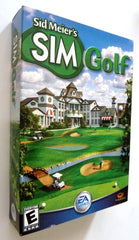 Sid Meier's SimGolf (PC, 2002) - Games Found Here