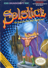 Solstice The Quest for the Staff of Demnos (Nintendo Entertainment System, NES, 1990) - Games Found Here  - 1