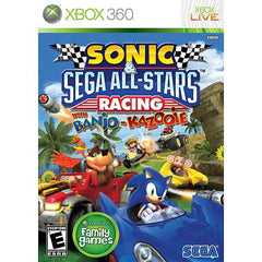 Sonic & Sega All-Stars Racing With Banjo-Kazooie (Microsoft Xbox 360, 2010) - Games Found Here