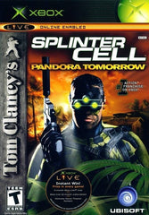 Tom Clancy's Splinter Cell: Pandora Tomorrow (Microsoft Xbox, 2004) Complete - Games Found Here