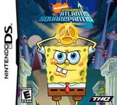 SpongeBob SquarePants Atlantis SquarePantis (Nintendo DS, 2010) - Games Found Here