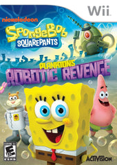 SpongeBob SquarePants Plankton's Robotic Revenge (Nintendo Wii, 2013) New Sealed - Games Found Here  - 1