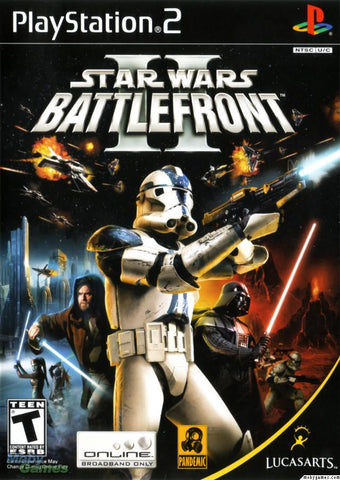 Star Wars: Battlefront II (Sony PlayStation 2, 2005) Complete