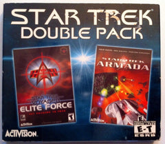Star Trek Double Pack Armada and Voyager Elite Force (PC Games, 2000) - Games Found Here