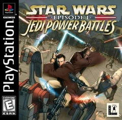 Star Wars: Episode I: Jedi Power Battles (Sony PlayStation 1, 2000) Complete - Games Found Here
