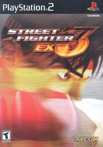 Street Fighter EX3  (Sony PlayStation 2, 2000)  Complete
