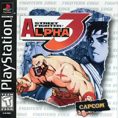 Street Fighter Alpha 3 (Sony PlayStation 1, 1999) - Games Found Here