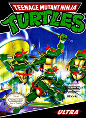 Teenage Mutant Ninja Turtles (Nintendo Entertainment System, NES, 1989) - Games Found Here  - 1