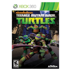 Teenage Mutant Ninja Turtles (Microsoft Xbox 360, 2013) - Games Found Here