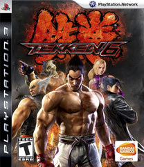 Tekken 6 (Sony PlayStation 3, 2009) Complete Black Label