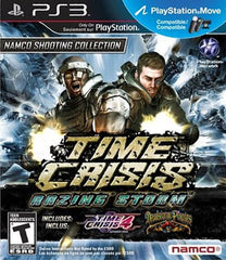 Time Crisis: Razing Storm (Sony PlayStation 3, 2010) Complete