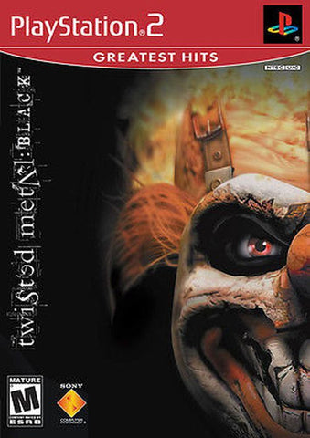 Twisted Metal: Black Greatest Hits (Sony PlayStation 2, 2002) Complete