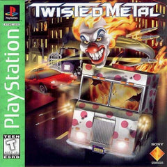 Twisted Metal (Sony PlayStation 1, 1995) Complete - Games Found Here