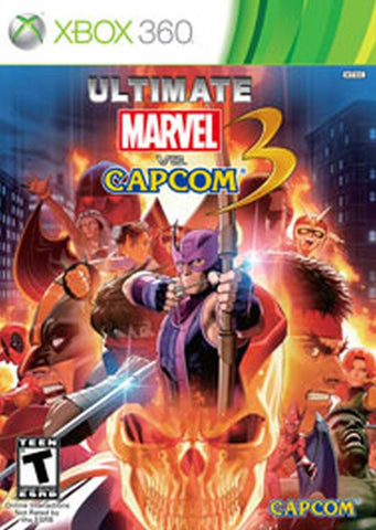 Ultimate Marvel vs. Capcom 3 (Microsoft Xbox 360, 2011)