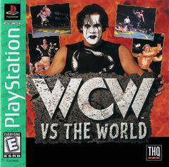WCW vs. The World (Sony PlayStation 1, 1997)  Complete - Games Found Here