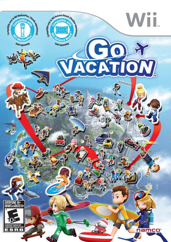 Go Vacation  (Nintendo Wii, 2011)