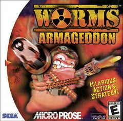 Worms: Armageddon (Sega Dreamcast, 1999) - Games Found Here