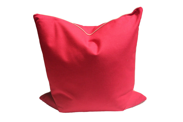 Fuchsia Linen Pillow