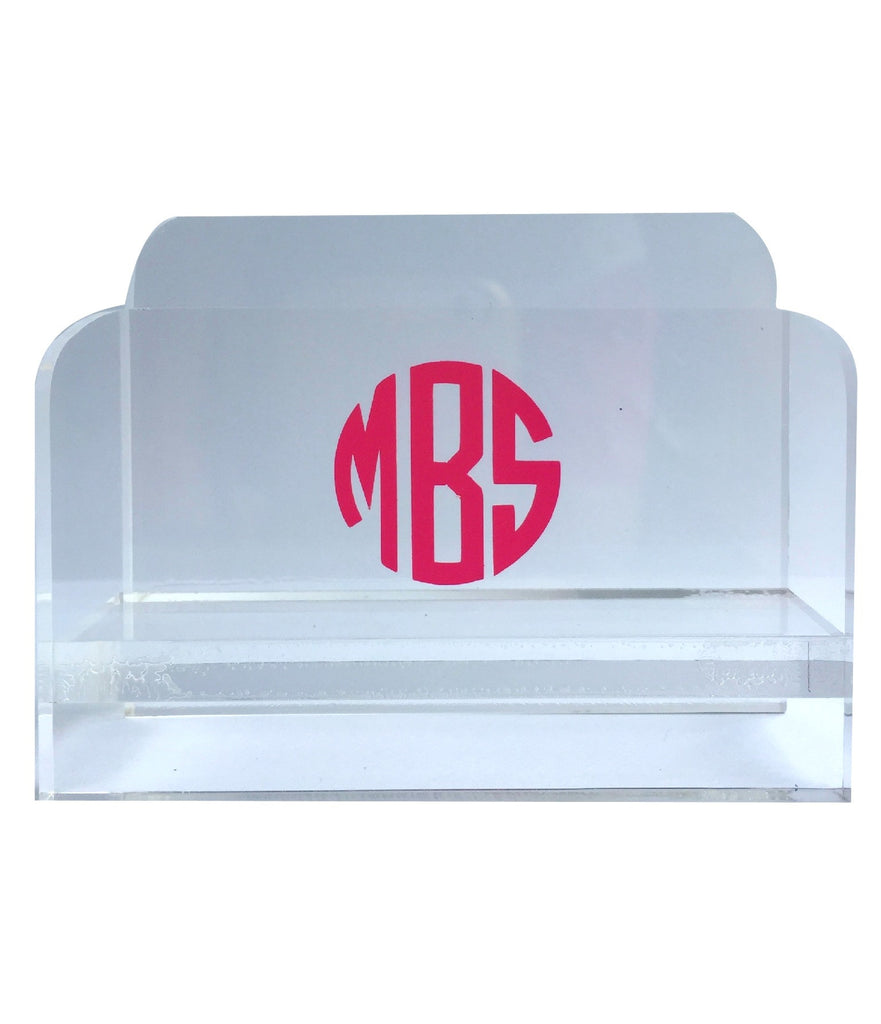 Acrylic Business Card Holder – Social Manor