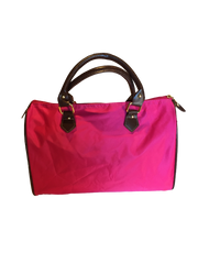 Nylon Bowler Bag