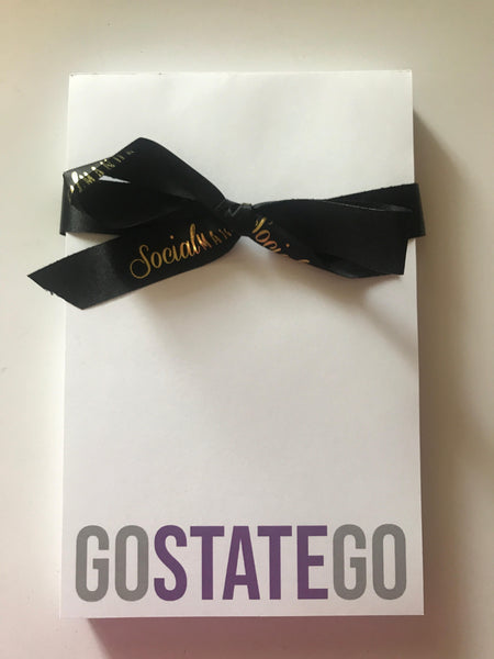 Notepad - Go State Go