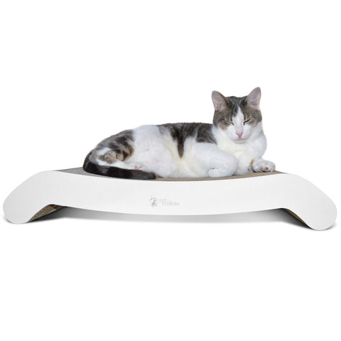 PetFusion Cat Scratcher FLIP. In Standard PAD and Large LOUNGE