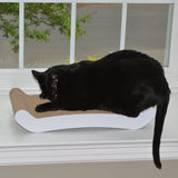 PetFusion Cat Scratcher FLIP. In Standard PAD and Large LOUNGE - PetFusion
