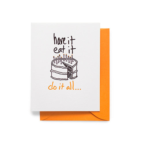 Do It All Cake