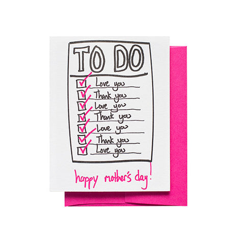 To Do List Mom