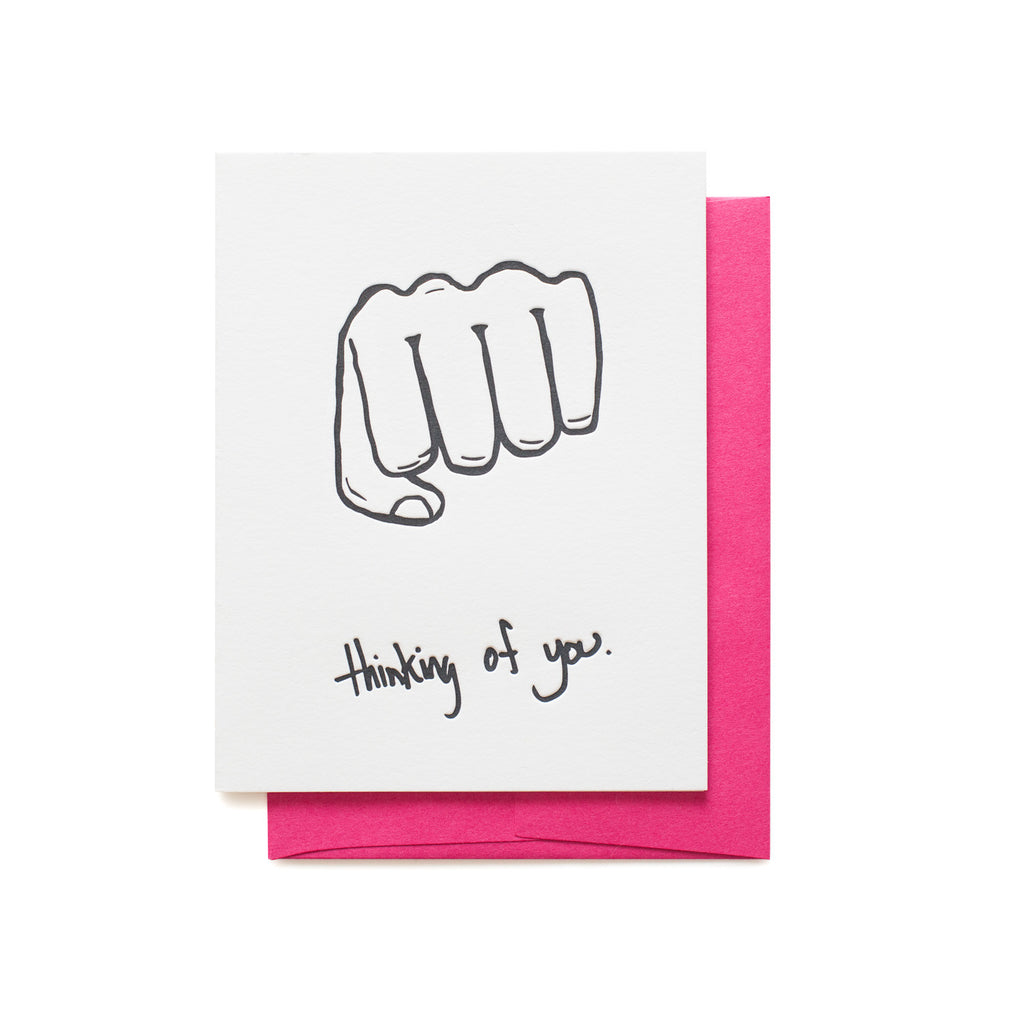 Thinking of You Fist Bump