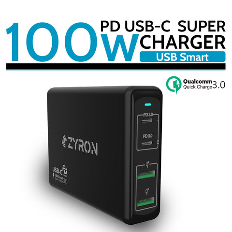 Zyron 100W USB-C PD Macbook Pro charger