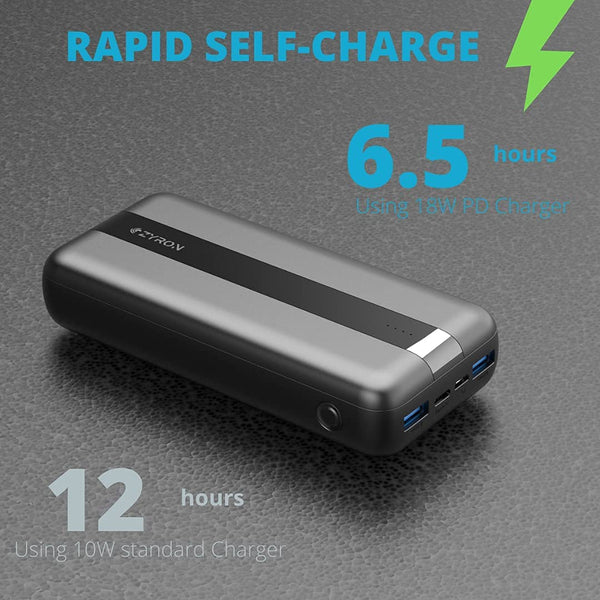 Dual USB Port Quick Charge battery pack
