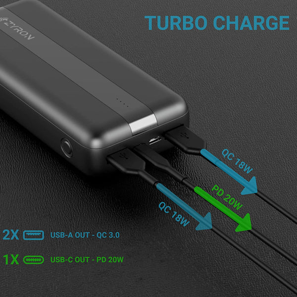 20W PD Fast  Charge Power bank