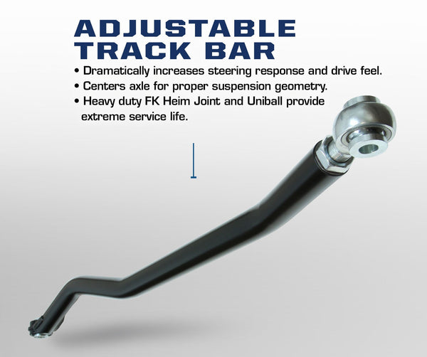 Carli Dodge Adjustable Track Bar 03-12