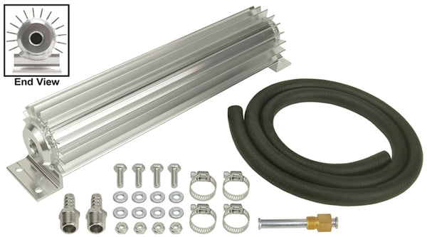 "Derale 1 Pass 14"" Heat Sink Cooler Kit 13253"