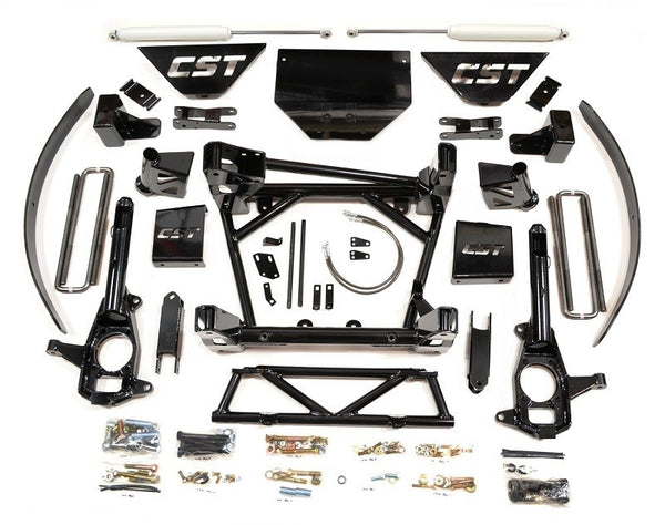 "CST Lift Kit 2011-2018 2500/3500 HD 8-10"" ALL STAGES FULL LEAF SPRING"