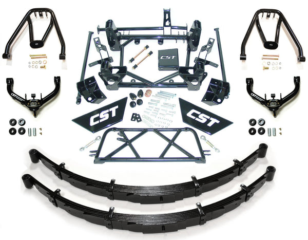 CST Lift Kit W/ Leafs, Dual Shock Hoops & UCA's 2001-2010 2500/3500 HD 9-11""